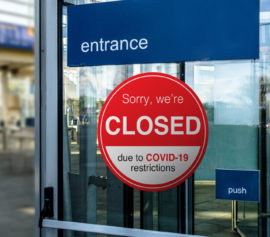 Store closing due to covid19.