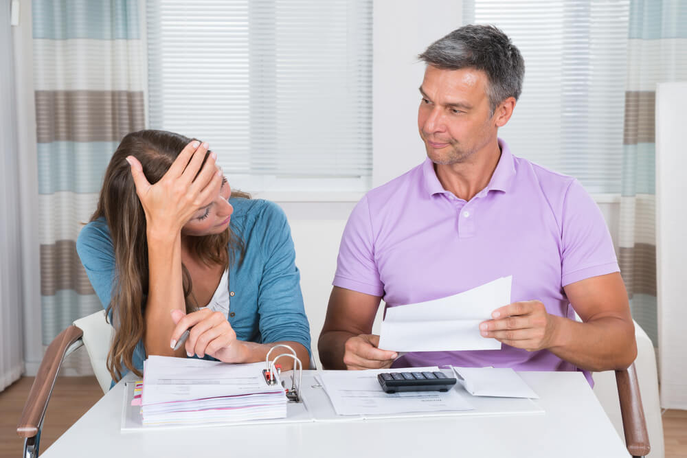 Couple having problems with bankruptcy.